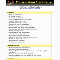 Questions simple conversation 42 Conversation